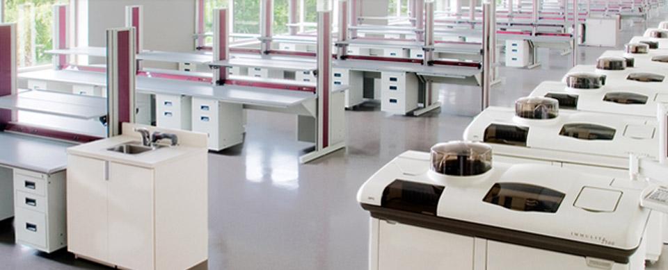 طراحی و اجرا سکوبندی آزمایشگاهی