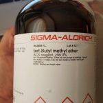 tert-Butyl methyl ether|sigma|ترت بوتیل متیل اتر سیگما | ۴۴۳۸۰۸
