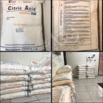 اسید سیتریک خشک چین
